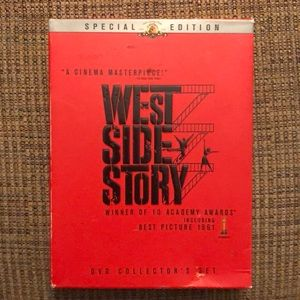 2 dvd: West Side Story special edition music set